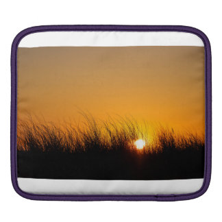 Sunset in the dunes iPad sleeve