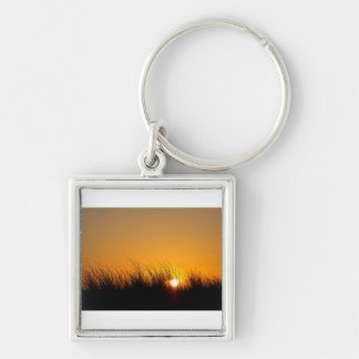 Sunset in the dunes key ring