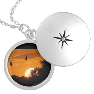 Sunset in the Everglades Necklace
