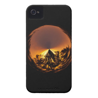 Sunset in the globe Case-Mate iPhone 4 case