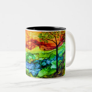 Sunset in The Hill Country Mug