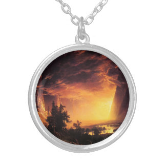 Sunset in the Yosemite Valley Necklace