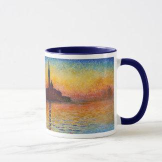 Sunset in Venice, Claude Monet Mug