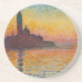 Sunset in Venice Coaster