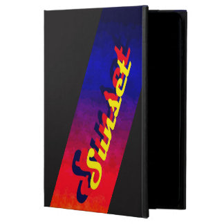 Sunset iPad Air 2 Case with No Kickstand