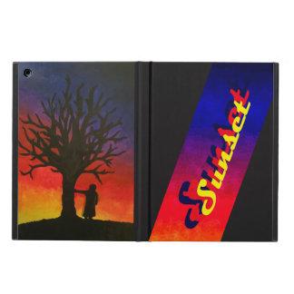 Sunset iPad Air Case with No Kickstand