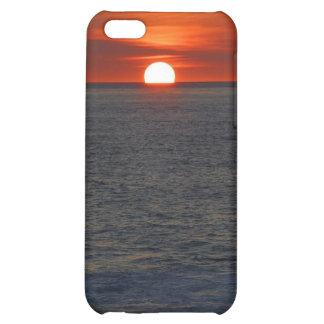 sunset iPhone 5C cover