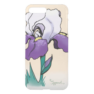 Sunset Iris Cute Floral iPhone 8 Plus/7 Plus Case