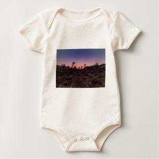 Sunset Joshua Tree National Park Baby Bodysuit