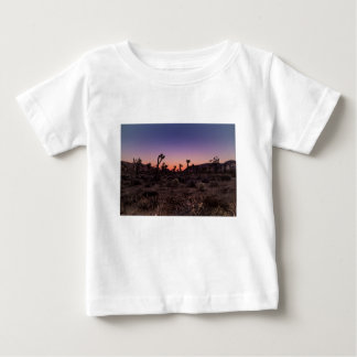 Sunset Joshua Tree National Park Baby T-Shirt
