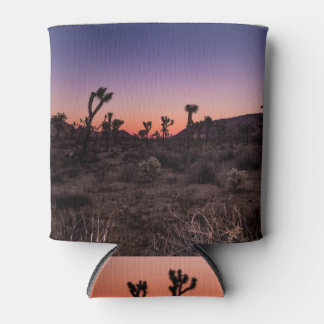 Sunset Joshua Tree National Park Can Cooler