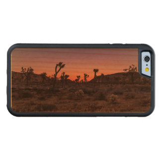 Sunset Joshua Tree National Park Carved Cherry iPhone 6 Bumper Case