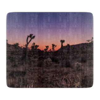Sunset Joshua Tree National Park Cutting Board