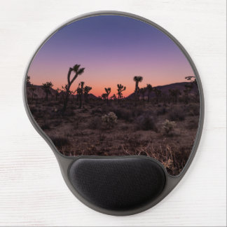 Sunset Joshua Tree National Park Gel Mouse Pad