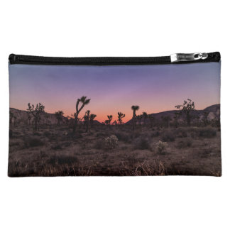 Sunset Joshua Tree National Park Makeup Bag