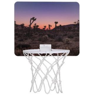 Sunset Joshua Tree National Park Mini Basketball Hoop