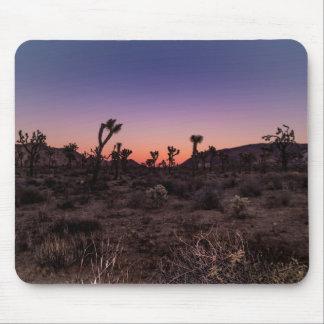 Sunset Joshua Tree National Park Mouse Pad