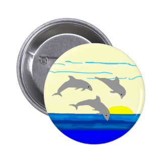 Sunset Jumping Dolphins button