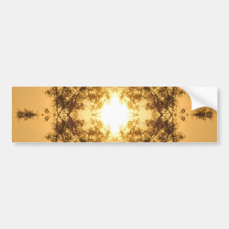Sunset Kaleidoscope Bumper Stickers