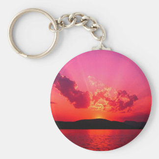 Sunset Key Ring