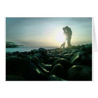 Sunset Kiss Card