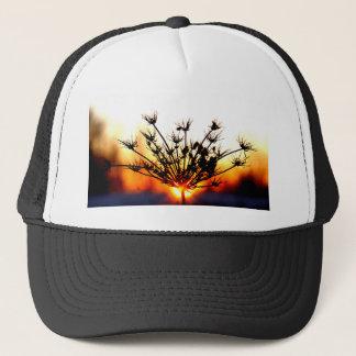 Sunset Lace Trucker Hat