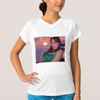 Sunset Ladies Performance Micro-Fiber Sleeveless T-Shirt