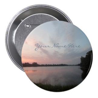 Sunset Lake 7.5 Cm Round Badge