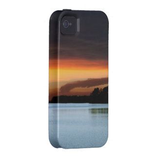 Sunset lake iPhone 4 covers