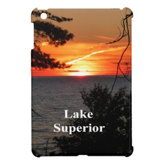 Sunset Lake Superior Cover For The iPad Mini