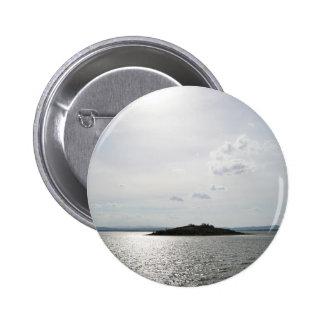 Sunset Lake Water Scenery Pinback Buttons