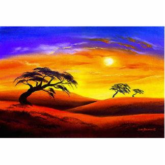 Sunset Landscape Scenery - Multi Photo Sculpture