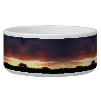 Sunset Large Dog Bowl