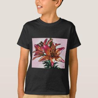 Sunset lily T-Shirt