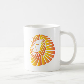 Sunset Lion Coffee Mug