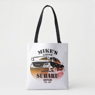 Sunset Logo Tote Bag