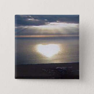 Sunset Love Button