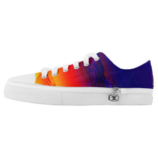 Sunset Low Top Shoe Printed Shoes