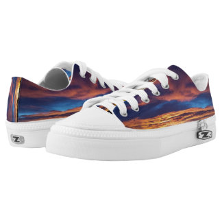 Sunset Lowtop Shoes Printed Shoes