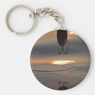 Sunset Lure Key Ring