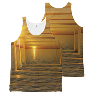 Sunset Madness All-Over Print Tank Top