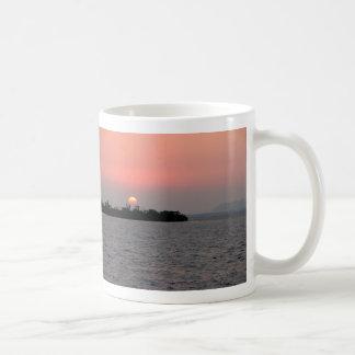 Sunset, Mangrove Cay, Belize Coffee Mugs