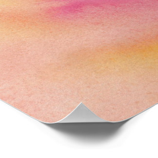 Sunset Marble Poster