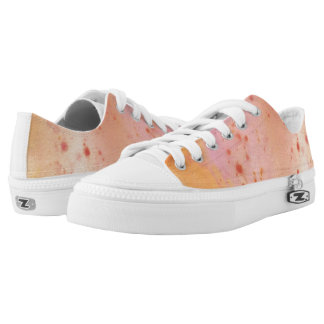 Sunset Marble Splat Low Tops