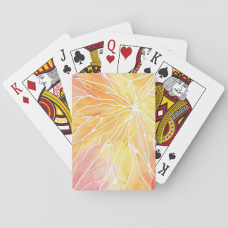 Sunset Marbled Break Playing Cards