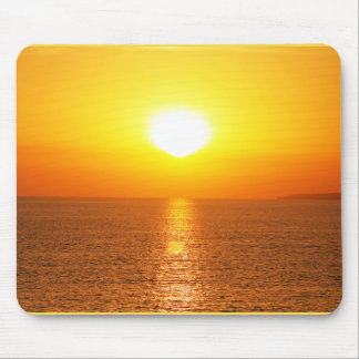 sunset. marine collection mouse pad