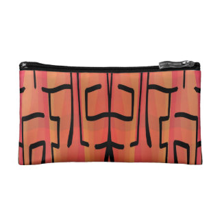Sunset Maze - Abstract Cosmetics Bags