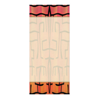 Sunset Maze - Abstract Customised Rack Card