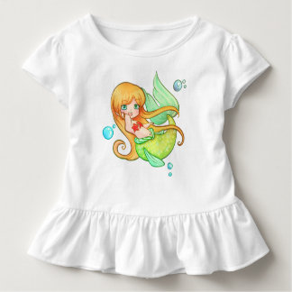 Sunset Mermaid Toddler T-Shirt