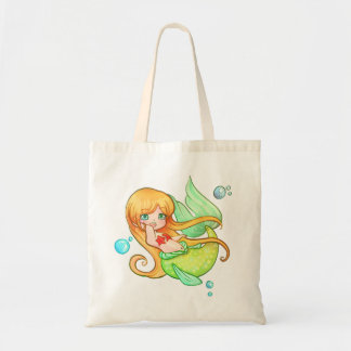 Sunset Mermaid Tote Bag
